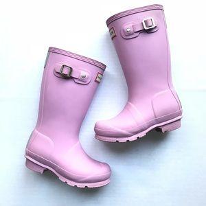 Hunter Kids Rain Boots Blossom